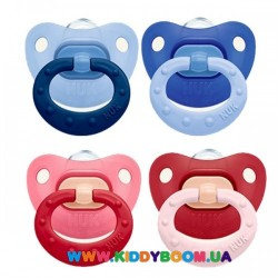 Пустышка ортодонтическая силиконовая Fashion 0-6 мес NUK 10729798