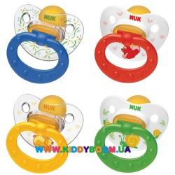 Пустышка ортодонтическая для сна Happy Kids 6-18 мес NUK 10733765