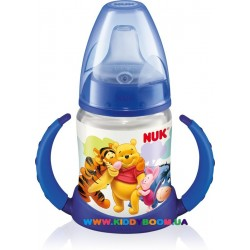 Поильник FIRST CHOICE Disney 150 мл с ручками NUK 10743348