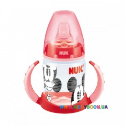 Поильник FIRST CHOICE Disney Mickey 150 мл с ручками NUK 10743498