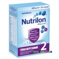 Сухая молочная смесь Nutrilon 2 (6-12 мес) гипоаллергенный 600 гр.