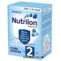 Сухая молочная смесь Nutrilon 2 (6-12 мес) с пребиотиками 600 гр.