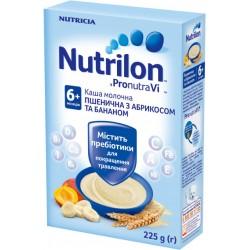 Каша молочная с 6-ти мес. Нутрилон пшеничная с абрикосом и бананом 225 г