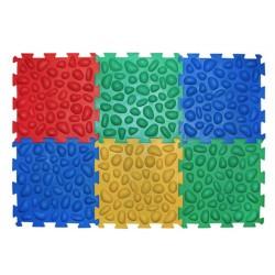 Ортопедический массажный коврик Ortek (Ортек) Пазлы (6 элементов) 6083