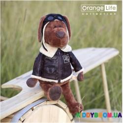 Мягкая игрушка Пес Барбоська Авиатор (45 см) Orange OS070/30
