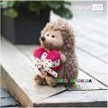 Мягкая игрушка Ежик Колюнчик с сердечком (25 см) Orange OS065/20C