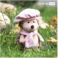 Мягкая игрушка Ежиха Колючка в берете (18 см) Orange OS603/15