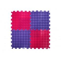 Массажный коврик-аппликатор Ortek (Ортек) Лотос Пазлы 4 элемента