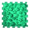 Массажный коврик Пазлы Микс Морской 1 элемент Ortek (Ортек) 9688 Разноцветный
