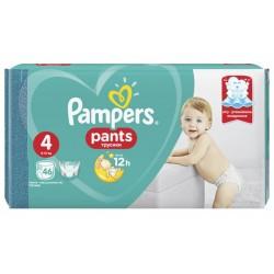 Трусики-подгузники Pampers Pants 4 Maxi (9-15 кг) 46 шт.