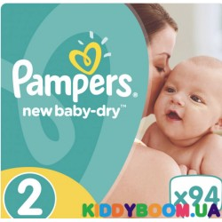 Подгузники Pampers  New Baby 2 mini JP (3-6 кг)  94 шт
