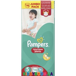 Трусики-подгузники Pampers Pants 5 Junior (11-18 кг) 48 шт.