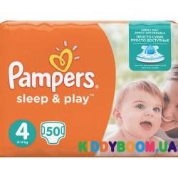 Подгузники Pampers Sleep & Play 4 maxi (8-14 кг) 50 шт