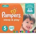 Подгузники Pampers Sleep & Play 5 junior (11-25 кг) 42 шт