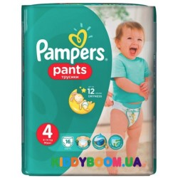Трусики-подгузники Pampers  Pants 4 Maxi (9-14 кг) 16 шт