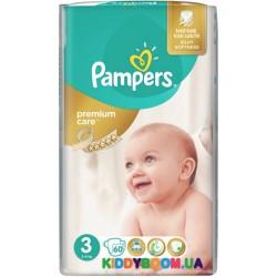 Подгузники Pampers Premium 3 midi (5-9 кг) 60 шт
