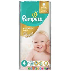 Подгузники Pampers Premium Care 4 Maxi (8-14 кг) 52 шт