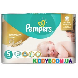 Подгузники Pampers Premium Care  5 Junior  (11-18 кг) 44 шт