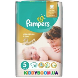 Подгузники Pampers Premium Care 5 Junior (11-18 кг)  18 шт