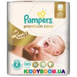 Подгузники Pampers Premium Care 2 mini (3-6 кг) 80 шт.