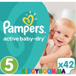 Подгузники Pampers Active Baby Dry 5 Junior (11-18 кг) 42 шт