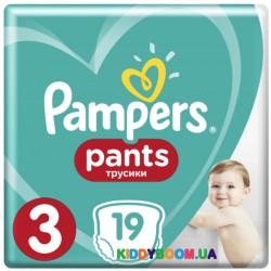 Подгузники-трусики Pampers Pants 3 Midi (6-11 кг) 19 шт