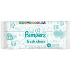 Салфетки влажные Pampers fresh clean 64 шт.