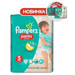 Подгузники Pampers Pants 5 Junior (12-18 кг) 15 шт. трусики