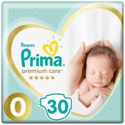 Подгузники Pampers Premium Care Размер 0 (Micro) 1-2.5 кг (30 шт)