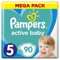Подгузники Pampers Active Baby Размер 5 (11-16 кг) 90 шт