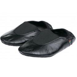 Детские чешки кожаные черные р.24-35 Pellagio 020\01