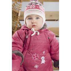 Комбинезон зимний для девочки р-р 68-92 Perlim Pinpin VH231C