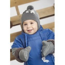 Комбинезон зимний для мальчика р-р 68-92 Perlim Pinpin VH232D