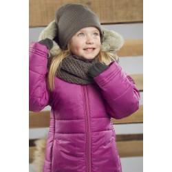 Зимнее пальто для девочки р-р 104-122 Perlim Pinpin VH241A
