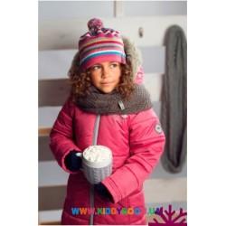 Пальто для девочки р-р 104-122 Perlim Pinpin VH241B