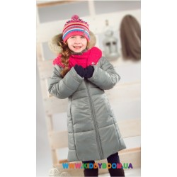 Пальто для девочки р-р 104-122 Perlim Pinpin VH241C