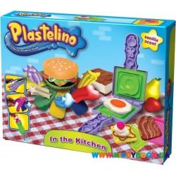 Набор для лепки Гамбургерная Plastelino NOR2854