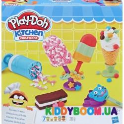 Игровой набор Play-Doh Создай любимое мороженое Hasbro Е0042