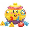Развивающая музыкальная игрушка сортер Музыкальный горшочек 0915 Limo Toy Желтый
