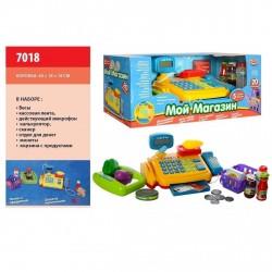 """Детский кассовый аппарат """"Мой магазин"""" 7018 Play Smart"""