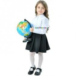 Блузка с удлиненными манжетами Валентина р.116-134 Purpurino 262210
