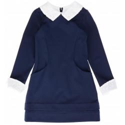 Платье с кружевами р.122-140 Purpurino 300001