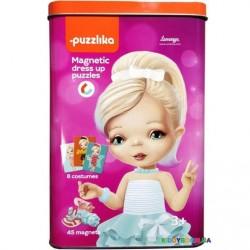 Магнитные пазлы Куклы 2 Puzzlika 14293