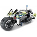 Конструктор Qihui 5806 Полицейский мотоцикл 193 детали