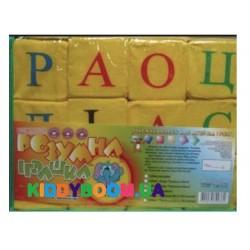 Набор кубиков Украинский алфавит Умная игрушка RI24
