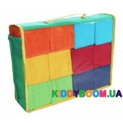 Набор кубиков Цветные Умная игрушка 720347