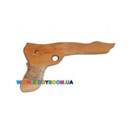 Детский деревянный игрушечный пистолет Руди Д394у