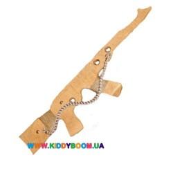 Детский деревянный игрушечный автомат Руди Д395у