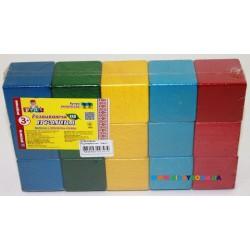 Кубики цветные 15 дет. Руді Ду-60