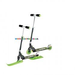 Зимний самокдетский ат 2 в 1 МВМ Snow Scooter